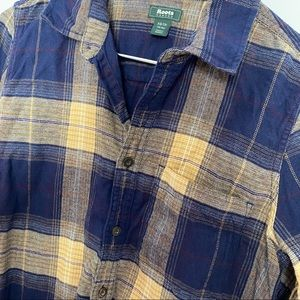 Roots Tops - Roots Canada flannel